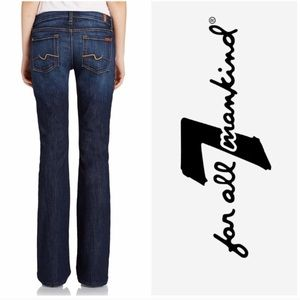 7 For All Mankind Medium Wash Bootcut Jeans